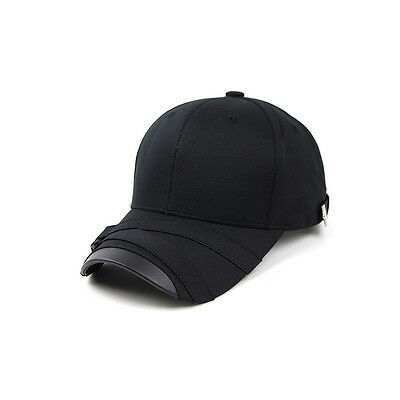 e1fee57da1b Unisex Mens Teamlife Cool Mesh Casual Baseball Cap Strapback Trucker Hats  Black