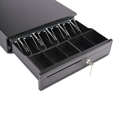 5 Bill 5 Coin Cash Drawer Box Money Register Works Compatible Tray Pos Printers