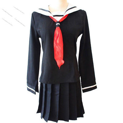 Enma Ai Hell Girl Cosplay Japanese School Student Uniform Halloween Costume - Halloween Costume Japanese School Uniform