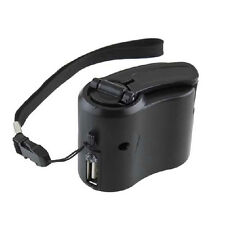 USB Hand Crank Charger Generator Manual Dynamo Mobile Emergency Phone Charger/