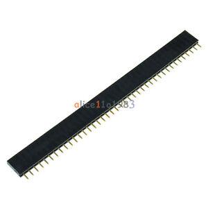 10PCS-40Pin-2-54mm-Single-Row-Straight-Female-Pin-Header-Strip-PBC-Ardunio