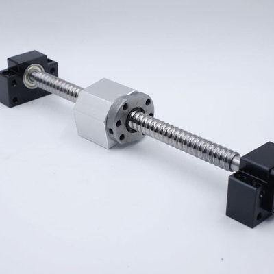 Ballscrew Rm Sfu2505 L-500mm Single Ballnut Bkbf20 End Machining Support Kit