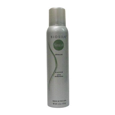 Shine Spray - Biosilk Finish Shine On Spray 5.3 oz (dented)