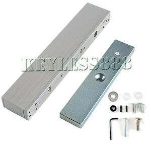 12V Electromagnetic Door Locks /Magnetic Lock 280KG Holding Force Access Control