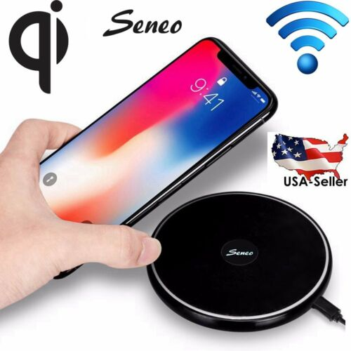 SENEO Qi Wireless Charger Fast Charging For iPhone 8 /8 Plus
