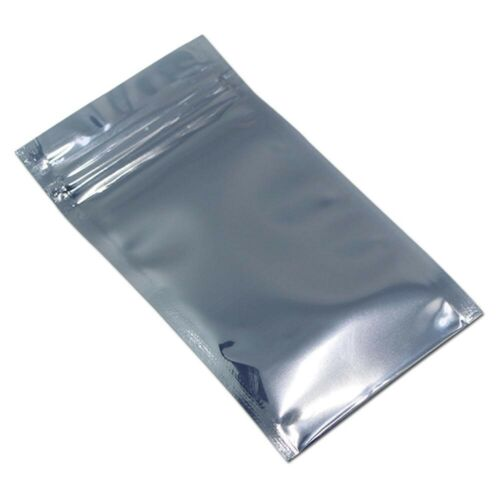 Re-Sealable ESD Anti-Static Shielding Bag 7x11 cm. 1-100 Pcs. Pack Zippered