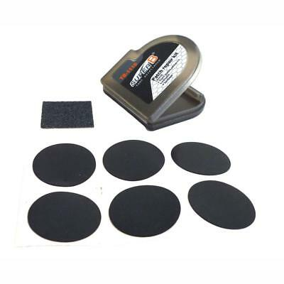 Super Bike Puncture repair Kit in a micro container cycle tube Glueless patches