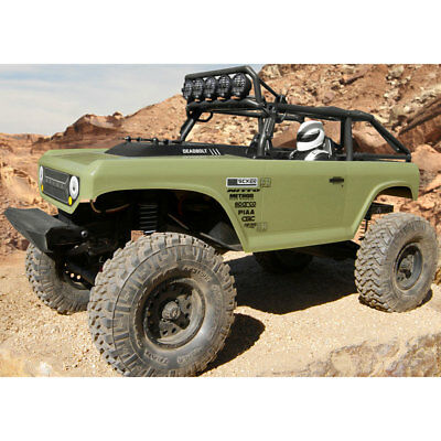 New Axial 1/10 1:10 Scale SCX10 II Deadbolt 4WD RTR RC Rock Crawler (Axial Scx10 Deadbolt Rtr 4wd Electric Rock Crawler)