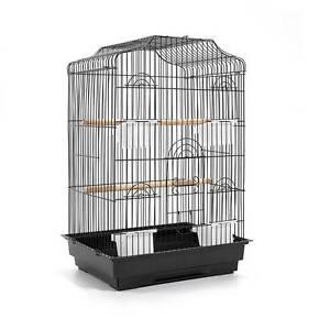 Pet Bird Cage Black Medium - 68CM North Melbourne Melbourne City Preview