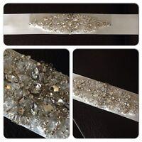 Bridal Beaded Belt - BRAND NEW