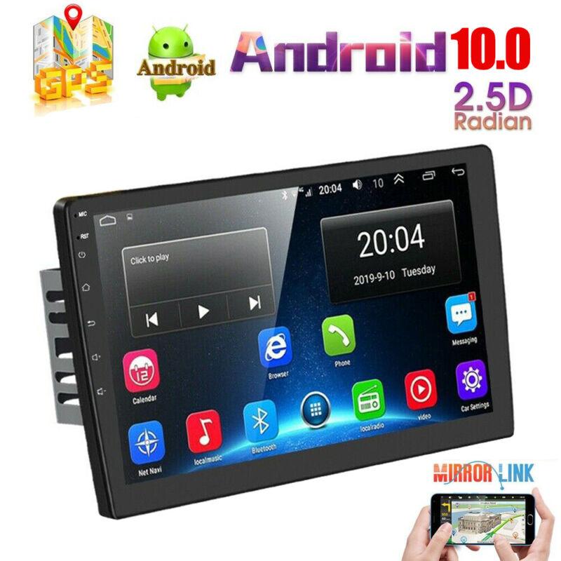 "10.1"" Android 10 Car Radio Stereo GPS Navi MP5 Player Bluetooth Wifi Mirror Link"