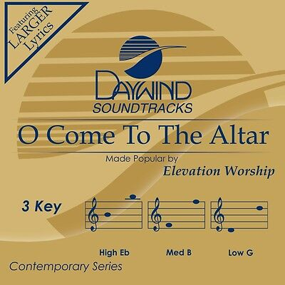Elevation Worship -  O Come To The Altar -  Accompaniment/Performance Track (Elevation Worship O Come To The Altar)