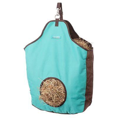 Tough-1 Tough Nylon Tote Hay Bag Turquoise