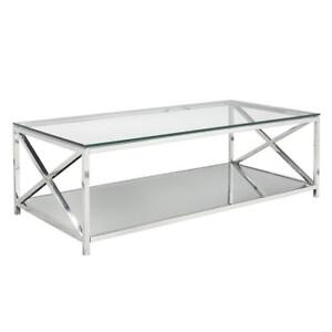 COFFEE TABLES AURORA - COFFEE TABLE SALE- BUY ONLINE WWW.KITCHENANDCOUCH.COM (BD-54)