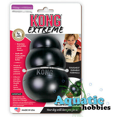 Kong Extreme Treat Release Dispensing Rubber Chew Toy For Dog Puppy Choose Size - Dog Chew Toy