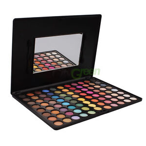 Ultra Shimmer 88 Color Makeup Eyeshadow Palette with Applicator Mirror #362