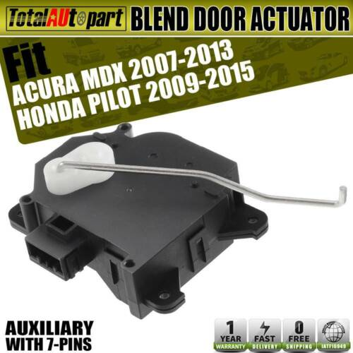 AC Blend Door Actuator Temperature Auxiliary For Acura MDX
