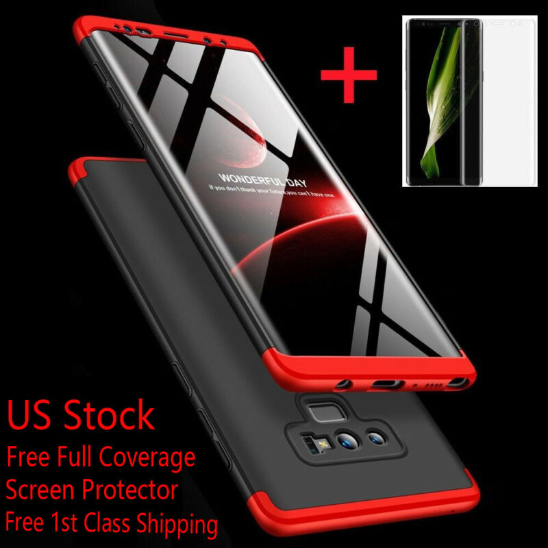 SLIM SHOCKPROOF Case+Screen Protector For Samsung Galaxy Not