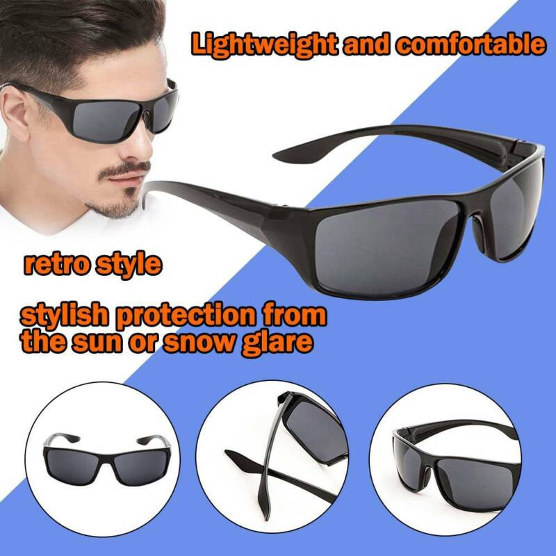 Mens Driving Outdoor Sport Sunglasses Eyewears Travel Sun Skiing Glasses
