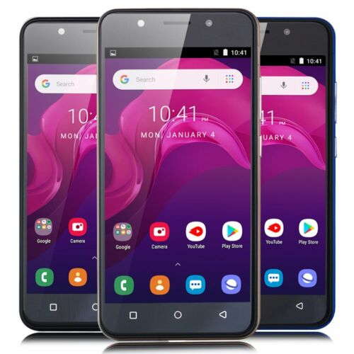 """Android Phone - 5"""" Android 8.1 Unlocked Cheap Mobile Smart Phone Quad Core Dual SIM WiFi 3G GPS"""