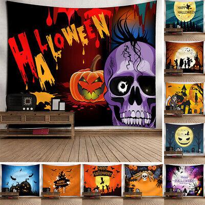Halloween Wall Hanging (Halloween Tapestry Wall Hanging Blanket Dorm/Bedroom Bedspread Pumpkin)