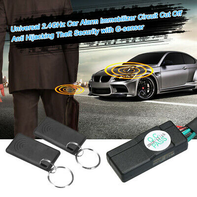 Car Engine Immobilizer Security Alarm System Anti-Theft Alarm System New ()