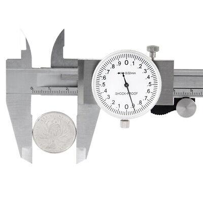 150mmprecision Stainless Steel Metric Dial Caliper 0.001inch Grad Measurement