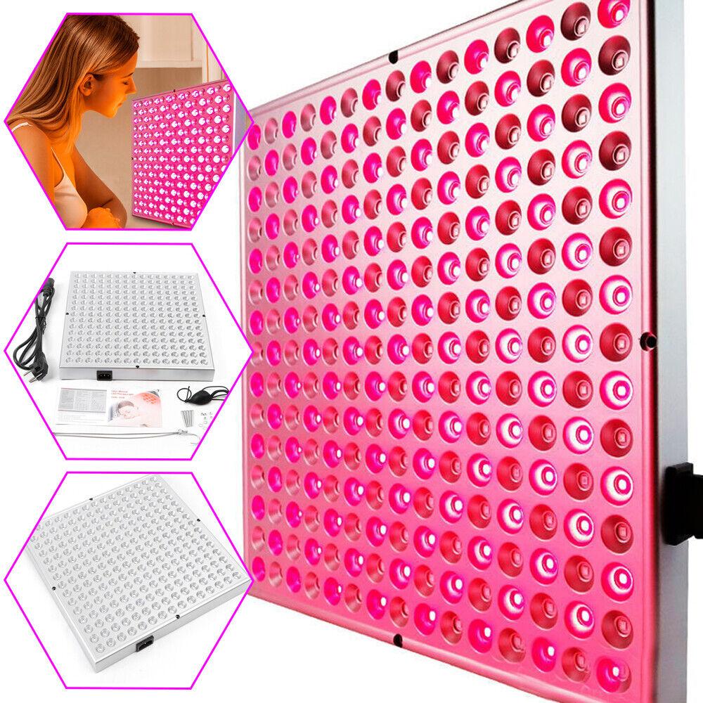 45W 225 LEDs Infrarot Lampe Wärmetherapie Rotlicht Therapie Lampe Wärmegeräte DE