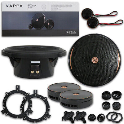 Infinity Kappa 60csx 6.5 ιντσών 2-way Car Audio Component System Speakers 100w RMS
