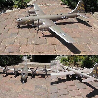 1:47 Boeing B-29 SuperFortress Bomber Bombardment Aircraft Paper Model Kit (Boeing B-29 Bomber)