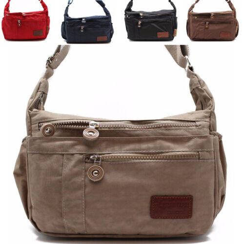 Crinkle Nylon Cross Body Bags for women shoulder bag bailey tote purse JTC 52