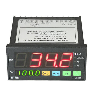Ta8-snr Temperature Controller Dual 4 Digital Led Thermostat Ssr Output M2r7
