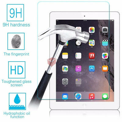 2Pcs/set Tempered Glass Screen Protector Film Guard For Apple ipad