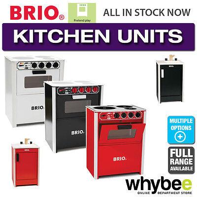 BRIO Kitchen Full Range of Wooden Appliances Kitchen - Sink ...