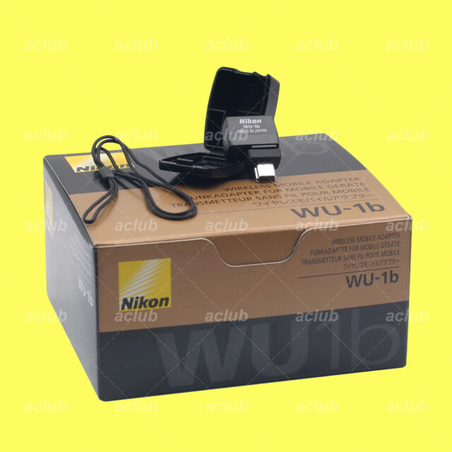 Genuine Nikon WU-1b Wi-Fi Wireless Mobile Adapter D610 D600 Nikon 1 J3 1 S1 1 V2
