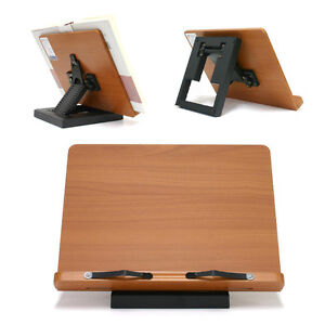 Portable-Reading-Desk-Holder-Book-Stand-MDF-Clover