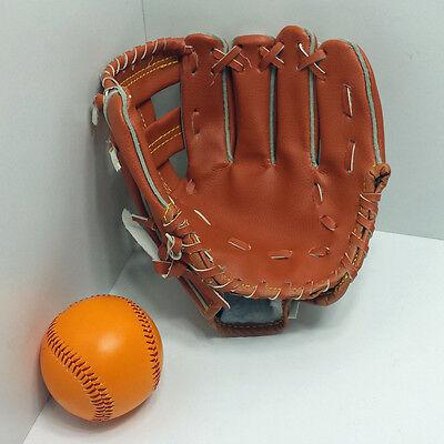 Baseball Set, Fang Handschuh mit Base Ball Junior Kinder Baseball Fanghandschuh