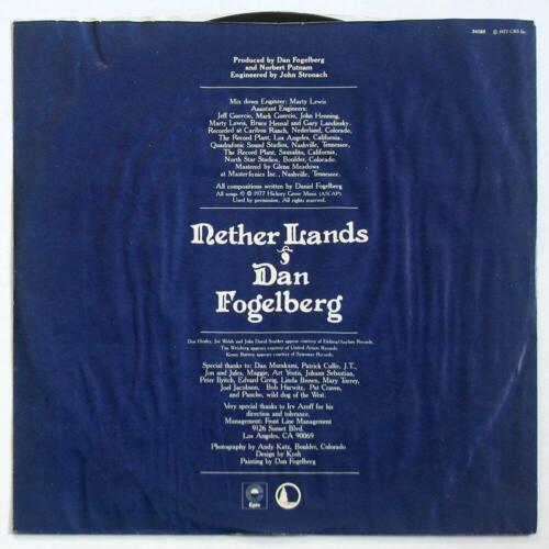 DAN FOGELBERG 4 LPs Souvenirs Nether Lands Phoenix Windows And Walls EXCELLENT  - $18.00