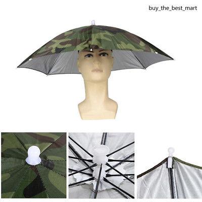Sonnenschirm Regenschirm Hut Sport Stirnband Kappe Angeln Kopfbedeckung
