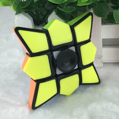 Fidget Spinner Cube1x3x3 Floppy Cube Puzzle Spinner Anti-Anxiety Fidget Toy New