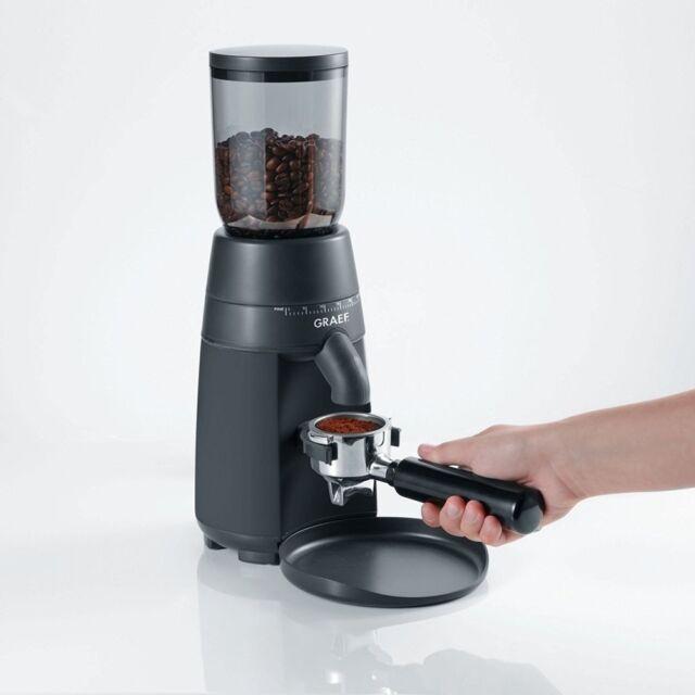 Graef Grae Kaffeemühle CM 702 bk schwarz Mahlwerk-System einstellbarer Mahlgra