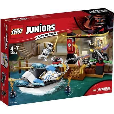 LEGO Juniors 10755: Ninjago Zane's Ninja Boat Pursuit - Brand New