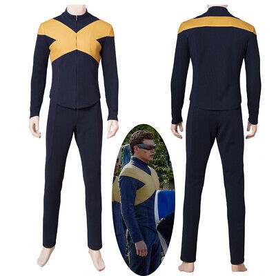 X-Men Dark Phoenix Cyclops Scott Summers Cosplay Costume Version 1
