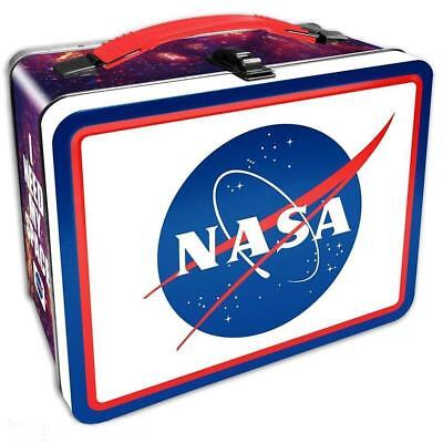 Classic - NASA - Large Tin Tote / Metal Lunch Box - Space Shuttle Exploration ()