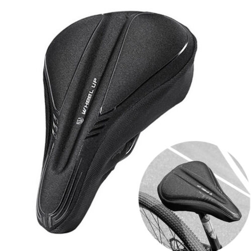 Extra Comfortable Bicycle Bike Saddle Seat Cover Soft Gel Cu