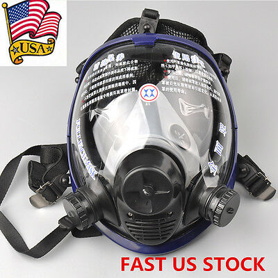 Anti-dust Full Face Mask Facepiece Respirator Painting Spraying Gas For 3M 6800