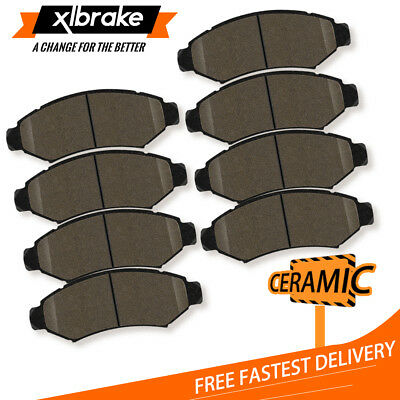 - Front Rear Ceramic Brake Pads For GMC Cadillac Escalade Chevrolet Avalanche 1500