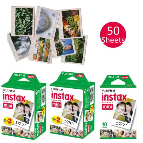 50 Sheets Fujifilm Instax Instant Film For Mini SP-1 2 90 8 9 25 7S 50S Cameras