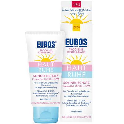 (32,42€/100ml) Eubos Kinder Haut Ruhe Sonnenschutz Gel LSF 30+ UVA (50ml)
