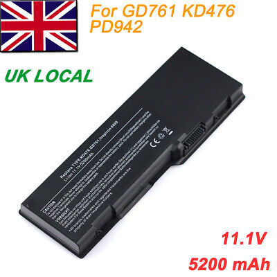 Battery for Dell Inspiron 6400 1501 E1505 Vostro 1000 GD761 KD476 PD942 UD267